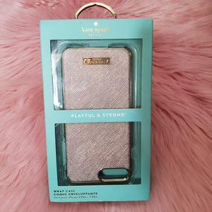 NWT Kate Spade Gold iPhone 8/7 Plus Case